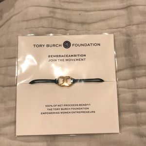 Tory Burch Embrace Ambition Green Bracelet